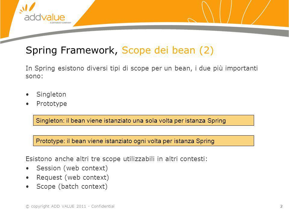 Spring Framework, Scope dei bean (2)