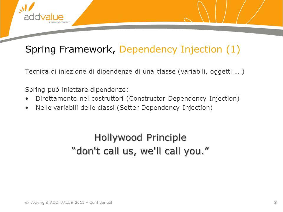 Spring Framework, Dependency Injection (1)