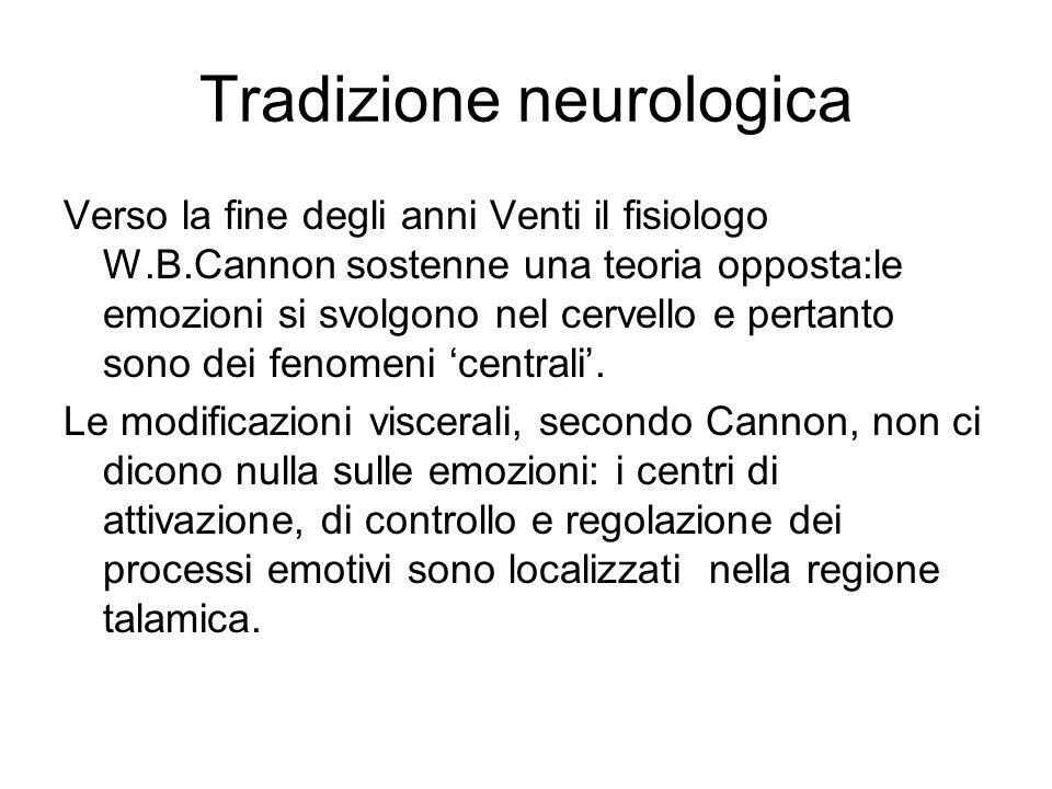 Tradizione neurologica