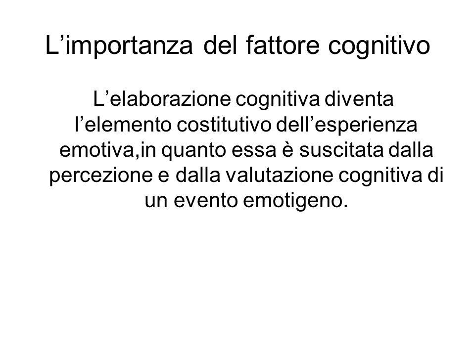 L'importanza del fattore cognitivo