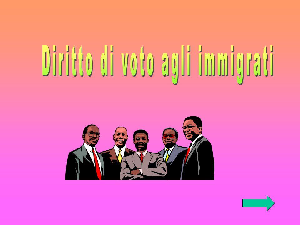Diritto di voto agli immigrati