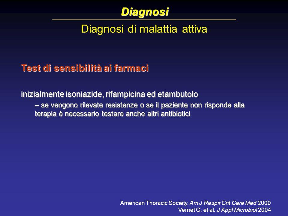 Diagnosi di malattia attiva