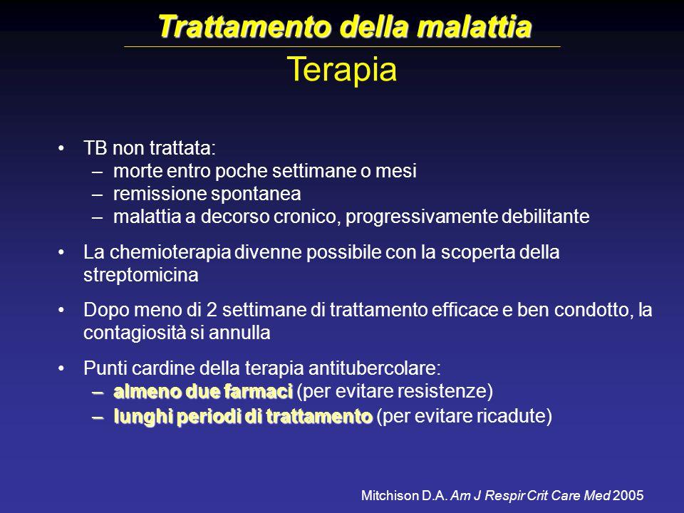 Trattamento della malattia