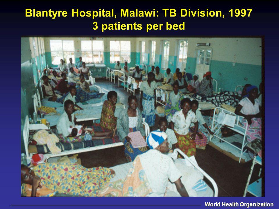 Blantyre Hospital, Malawi: TB Division, 1997