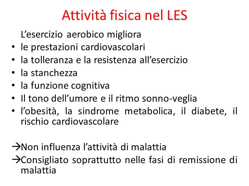 Attività fisica nel LES