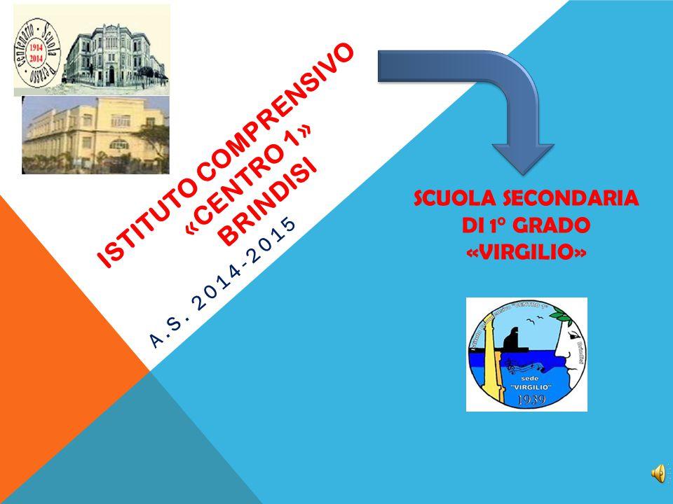 ISTITUTO COMPRENSIVO «centro 1» brindisi
