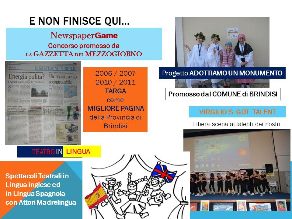 NewspaperGame Concorso promosso da LA GAZZETTA DEL MEZZOGIORNO