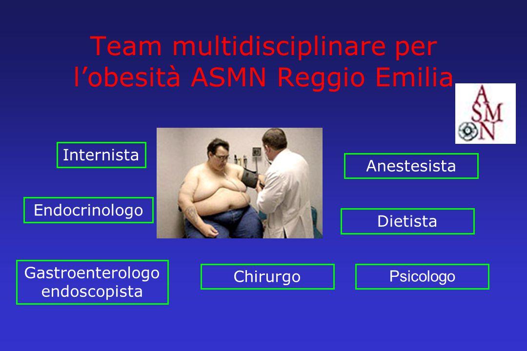 Team multidisciplinare per l'obesità ASMN Reggio Emilia