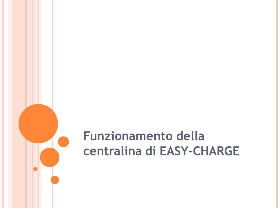 Funzionamento della centralina di EASY-CHARGE