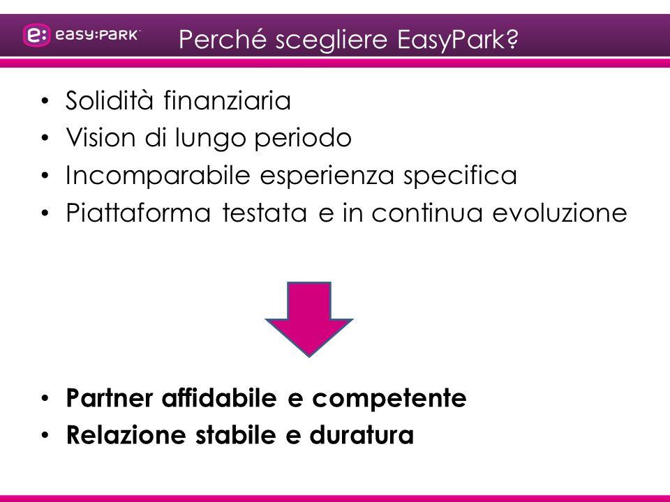 Perché scegliere EasyPark