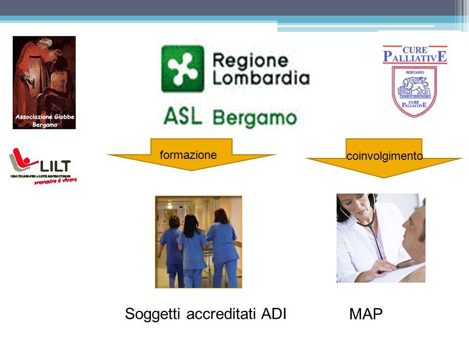 Soggetti accreditati ADI MAP