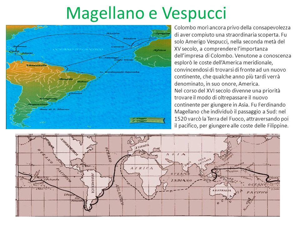 Magellano e Vespucci