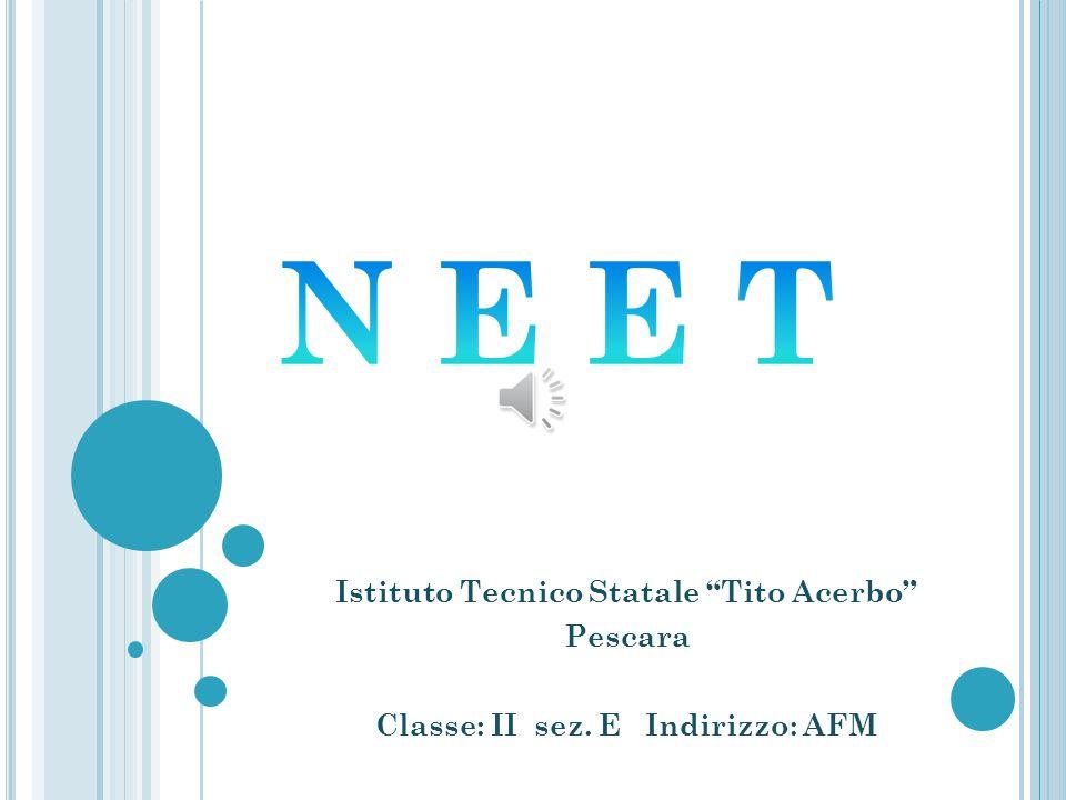 N E E T Istituto Tecnico Statale Tito Acerbo Pescara