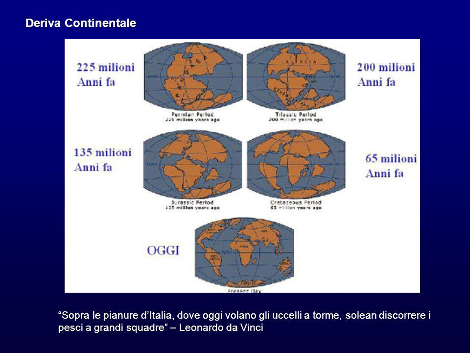 Deriva Continentale Sopra le pianure d'Italia, dove oggi volano gli uccelli a torme, solean discorrere i.