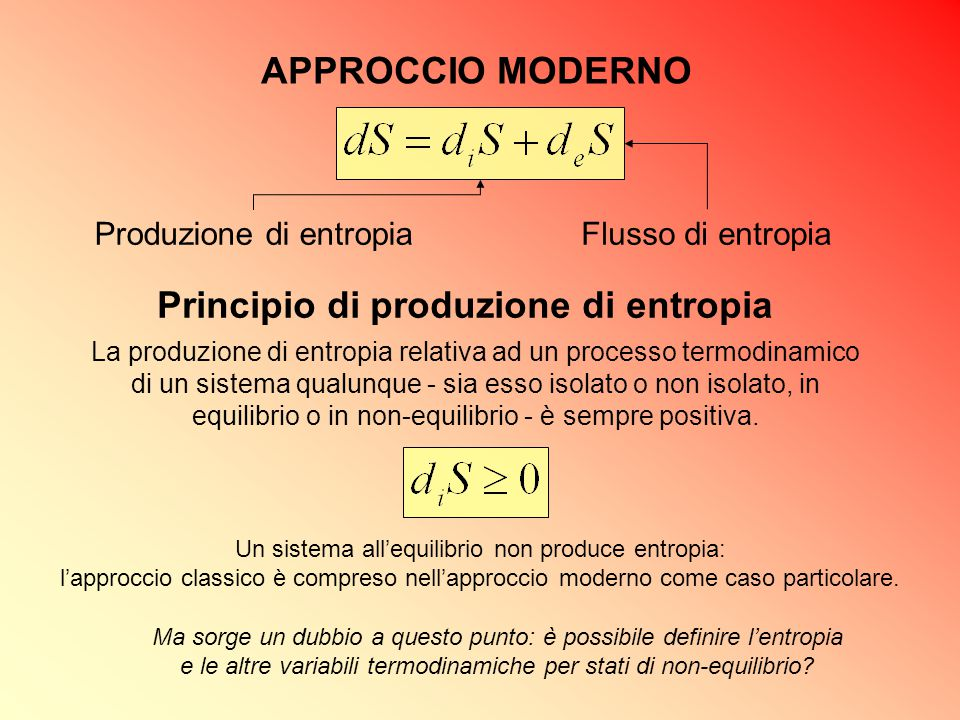 Principio di produzione di entropia