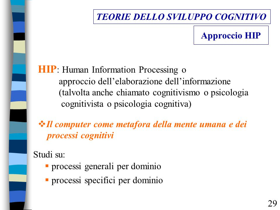 HIP: Human Information Processing o
