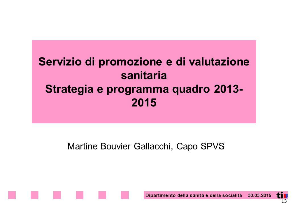 Martine Bouvier Gallacchi, Capo SPVS