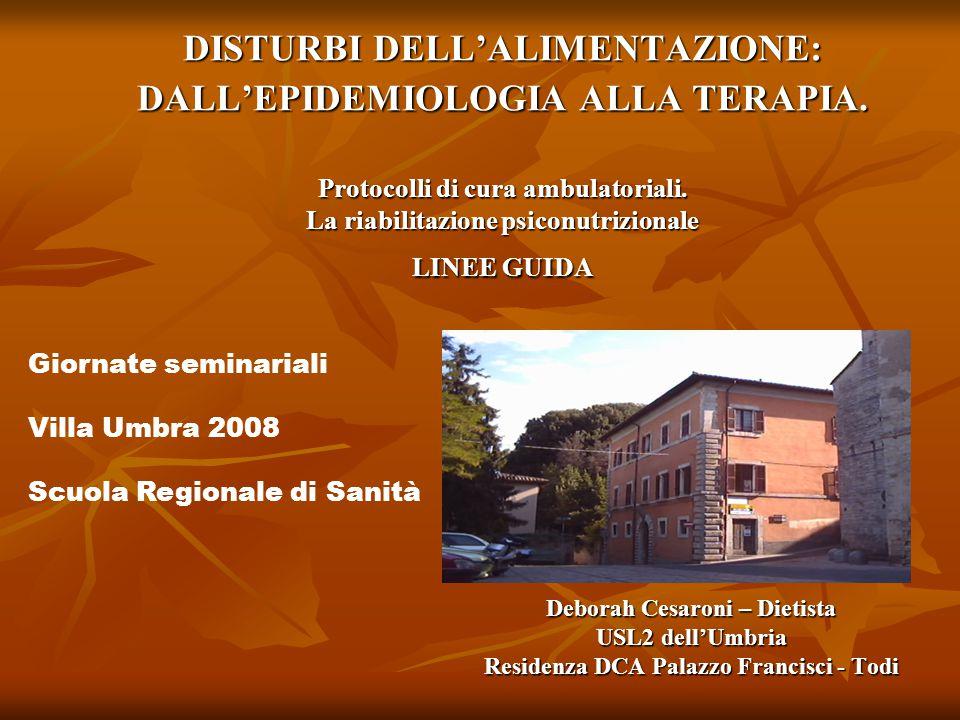 Deborah Cesaroni – Dietista Residenza DCA Palazzo Francisci - Todi