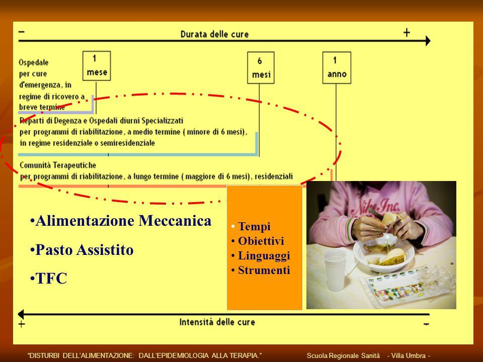 Alimentazione Meccanica Pasto Assistito TFC