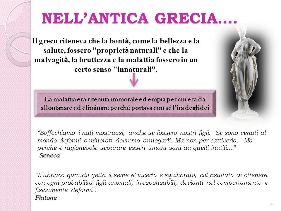 NELL'ANTICA GRECIA….