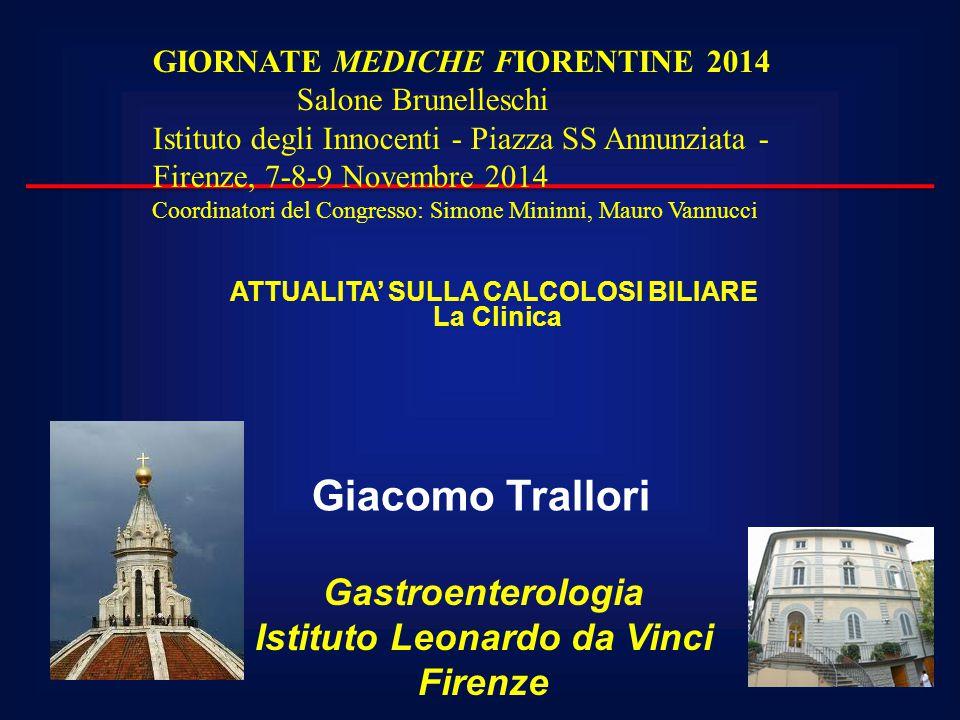 ATTUALITA' SULLA CALCOLOSI BILIARE Istituto Leonardo da Vinci