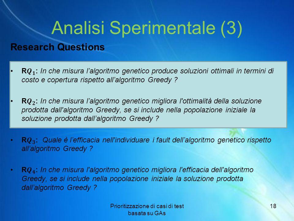 Analisi Sperimentale (3)