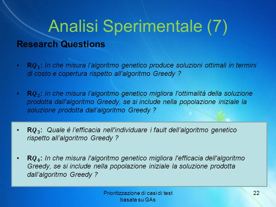 Analisi Sperimentale (7)