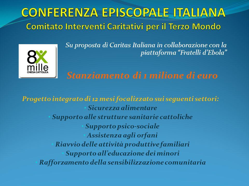 CONFERENZA EPISCOPALE ITALIANA Comitato Interventi Caritativi per il Terzo Mondo