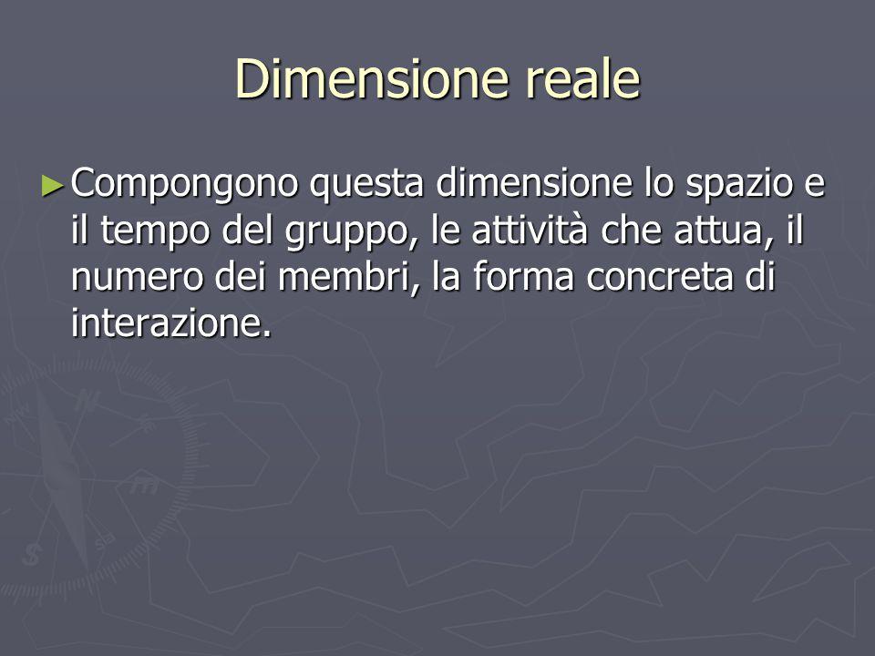 Dimensione reale