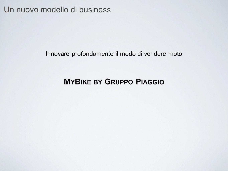 Un nuovo modello di business