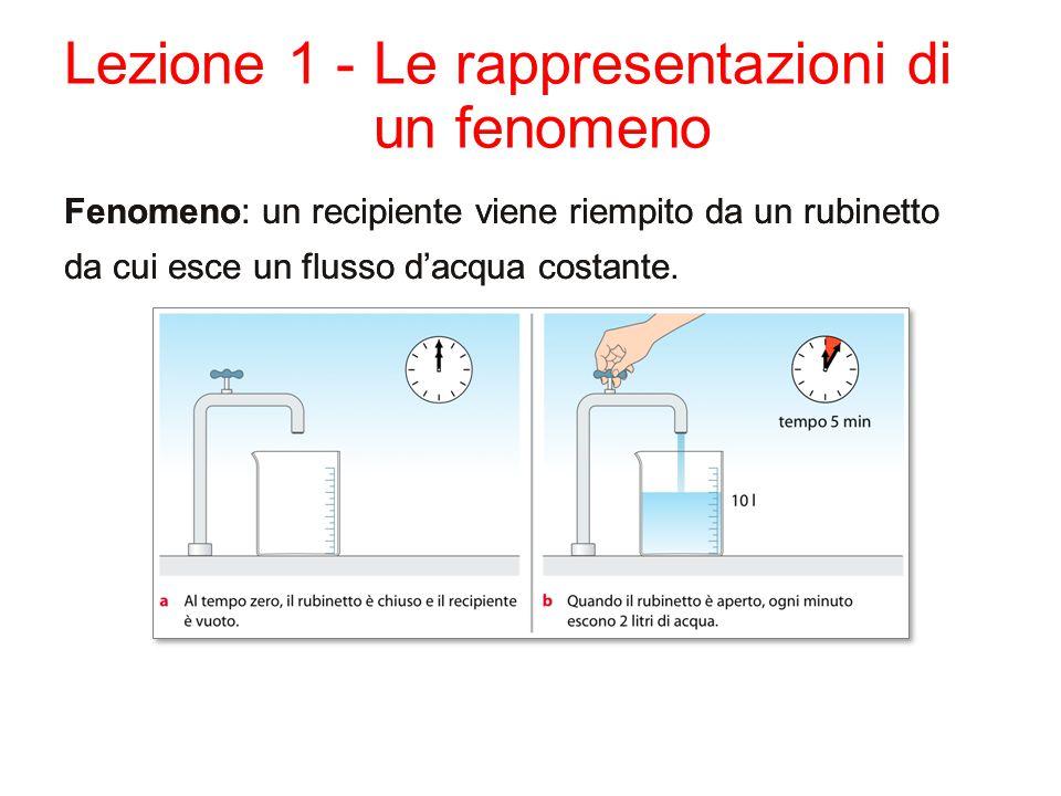 Lezione 1 - Le rappresentazioni di un fenomeno