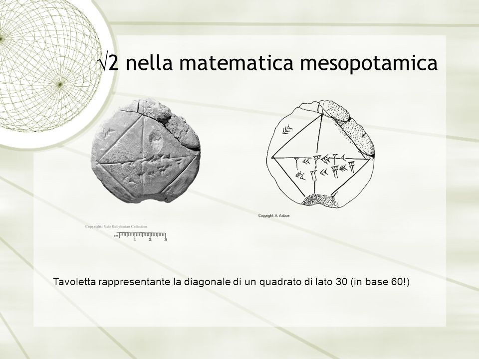 2 nella matematica mesopotamica