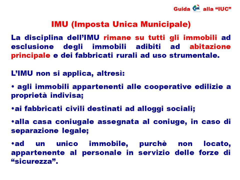 IMU (Imposta Unica Municipale)