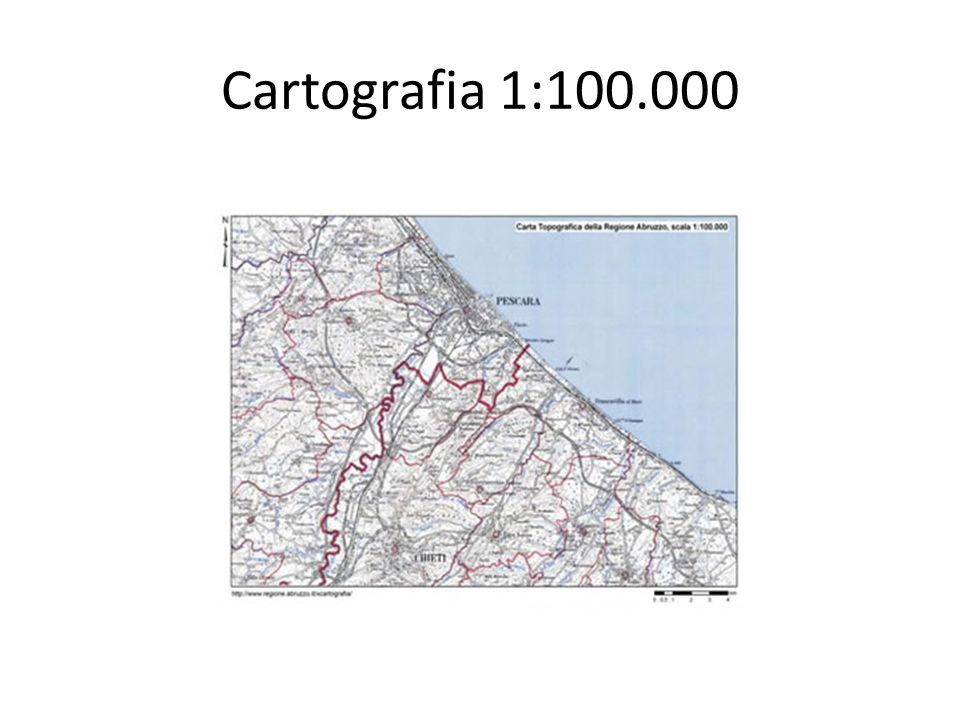 Cartografia 1:100.000