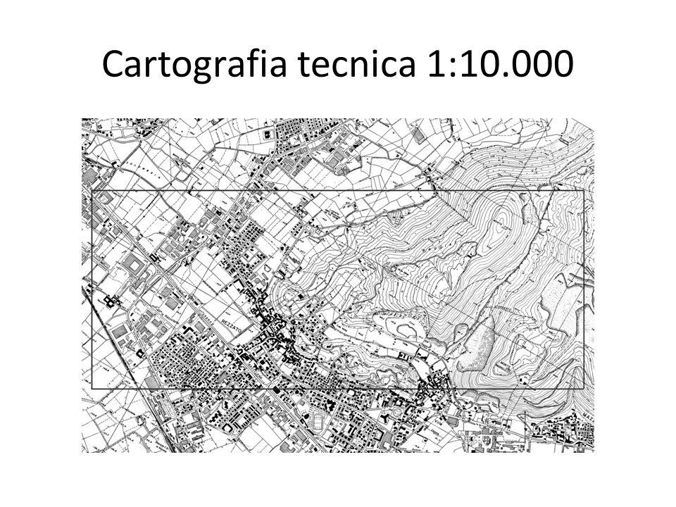 Cartografia tecnica 1:10.000
