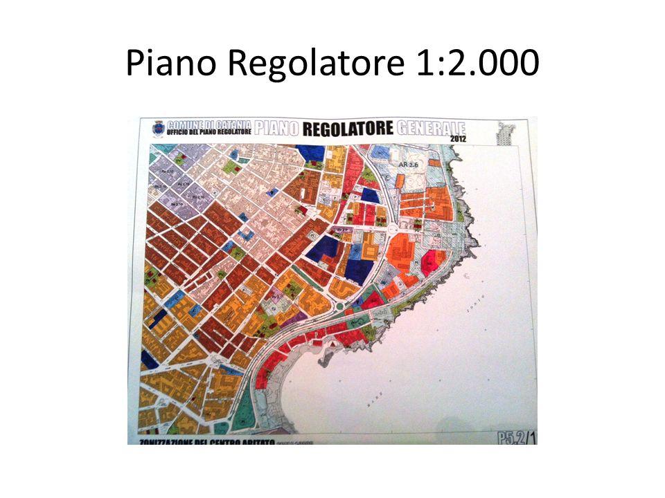 Piano Regolatore 1:2.000
