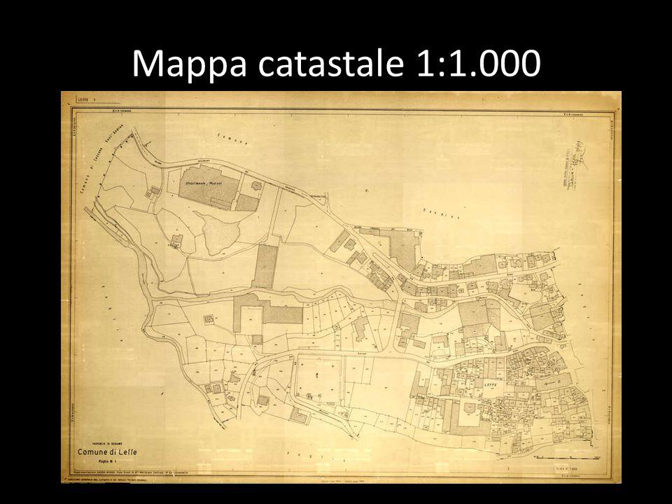 Mappa catastale 1:1.000