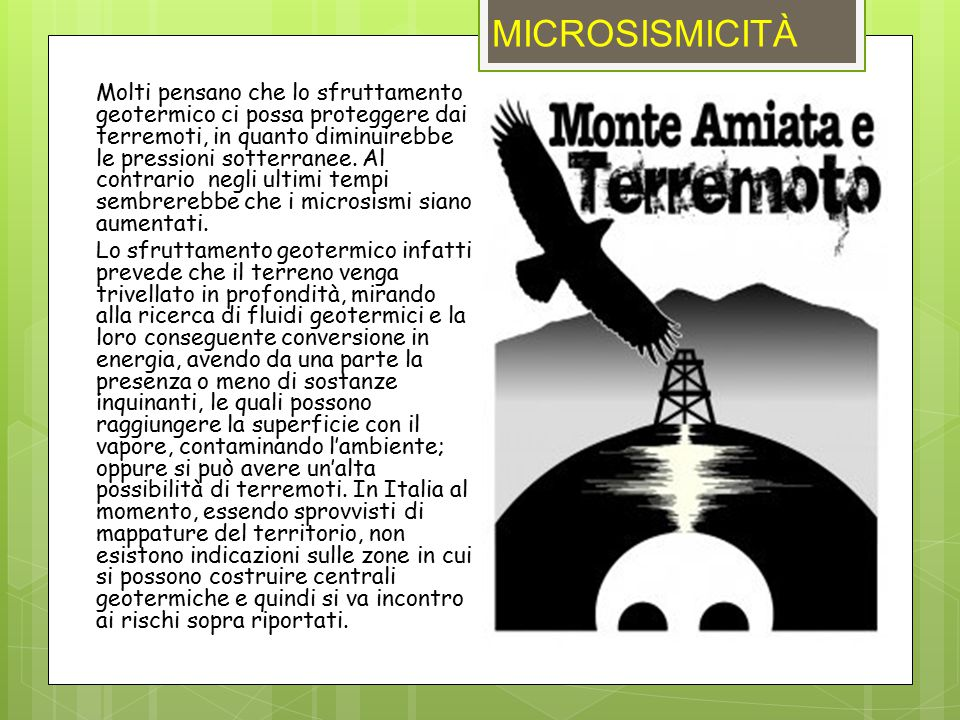 MICROSISMICITÀ