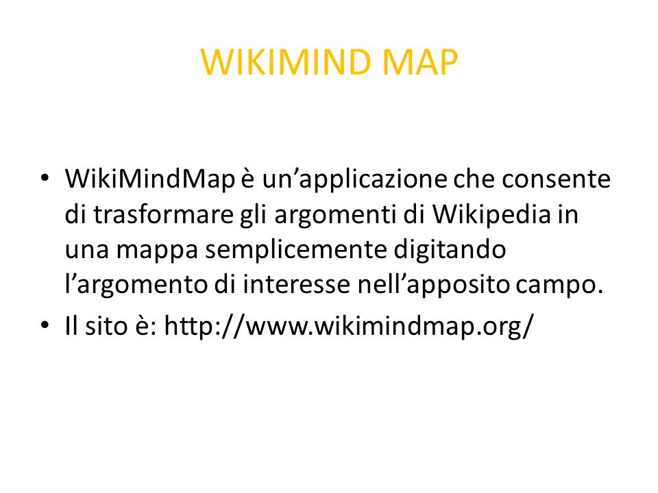 WIKIMIND MAP