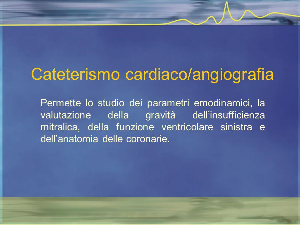 Cateterismo cardiaco/angiografia