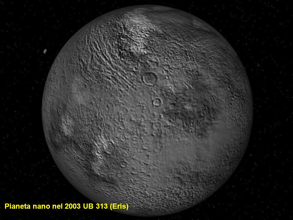 Pianeta nano nel 2003 UB 313 (Eris)