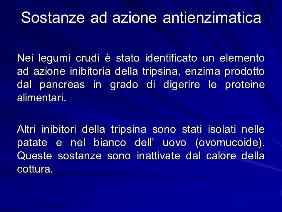 Sostanze ad azione antienzimatica