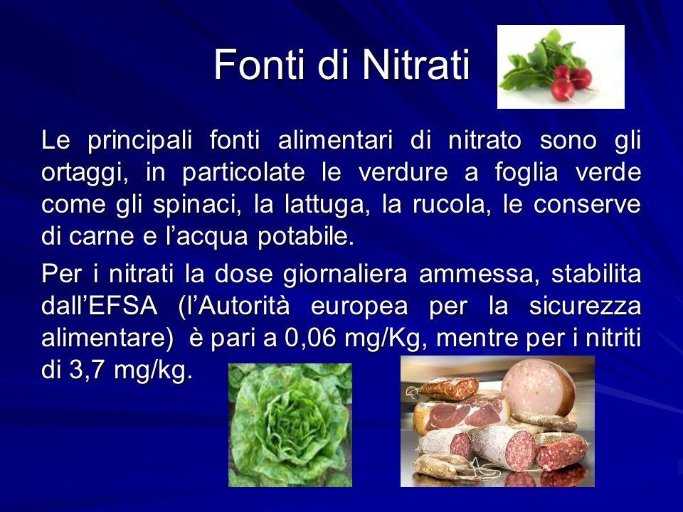 Fonti di Nitrati