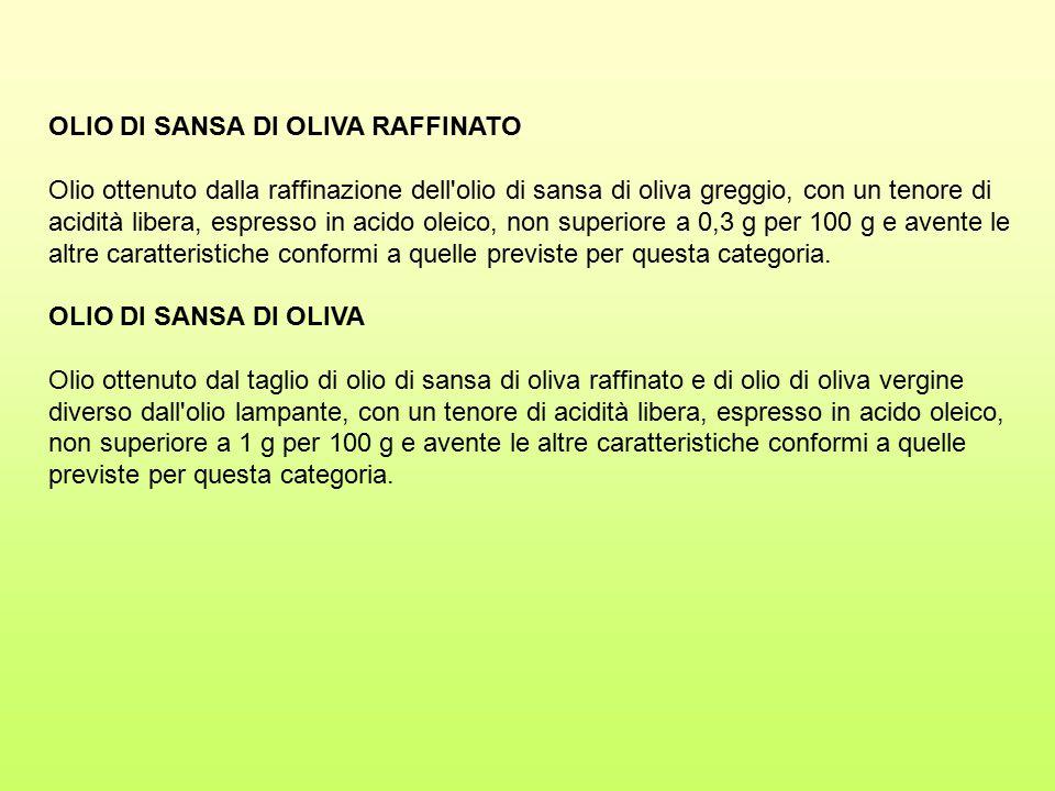 OLIO DI SANSA DI OLIVA RAFFINATO