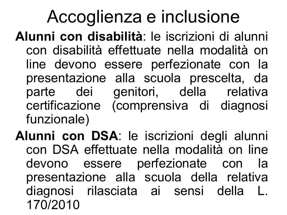Accoglienza e inclusione