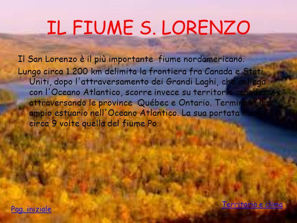 IL FIUME S. LORENZO