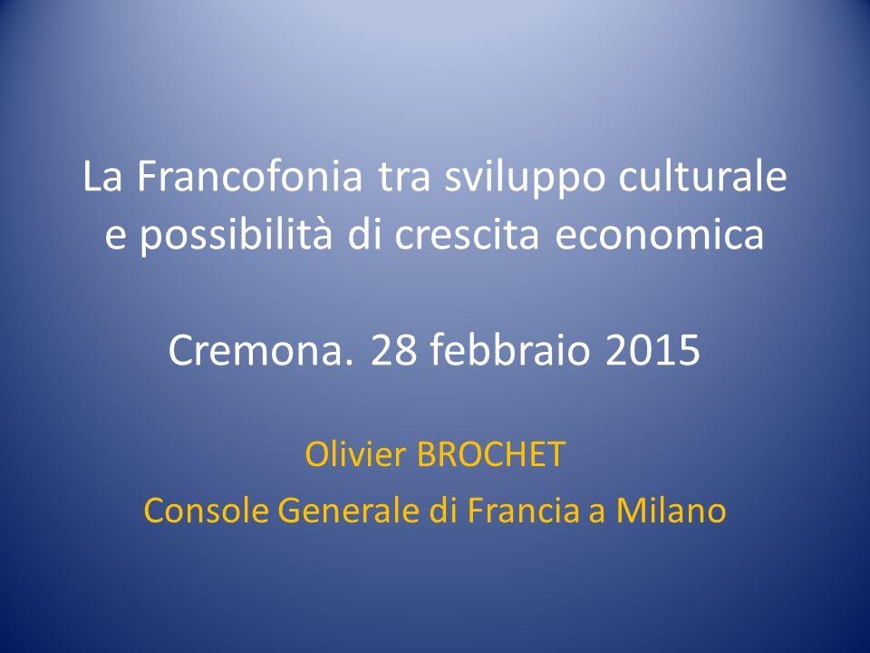 Olivier BROCHET Console Generale di Francia a Milano
