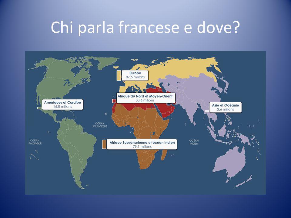 Chi parla francese e dove