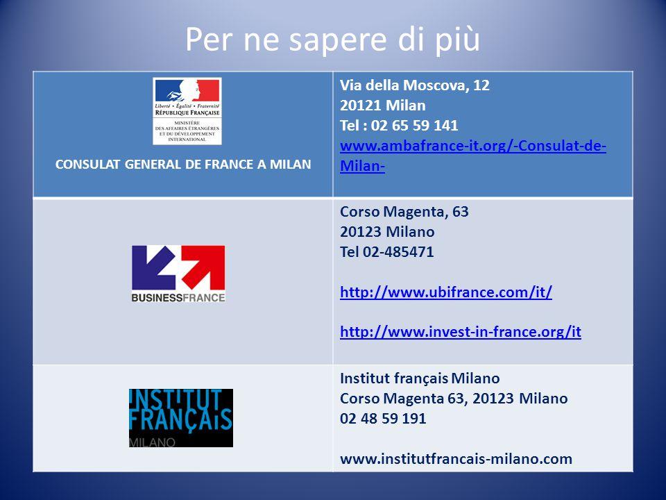 CONSULAT GENERAL DE FRANCE A MILAN
