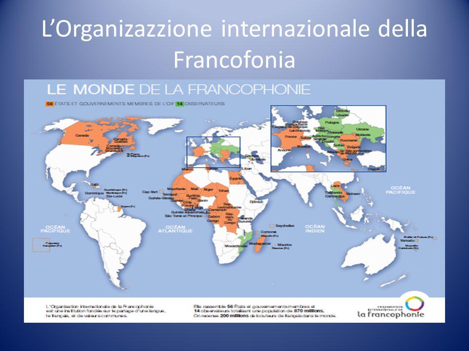 L'Organizazzione internazionale della Francofonia